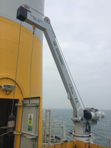 Challenging conditions exist for servicing offshore wind turbines